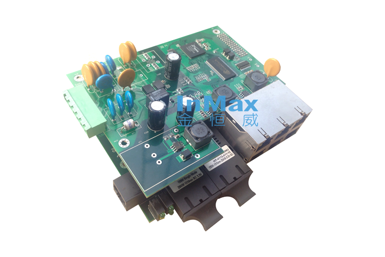 i608A 6+2 Embedded Managed Industrial Ethernet Switches
