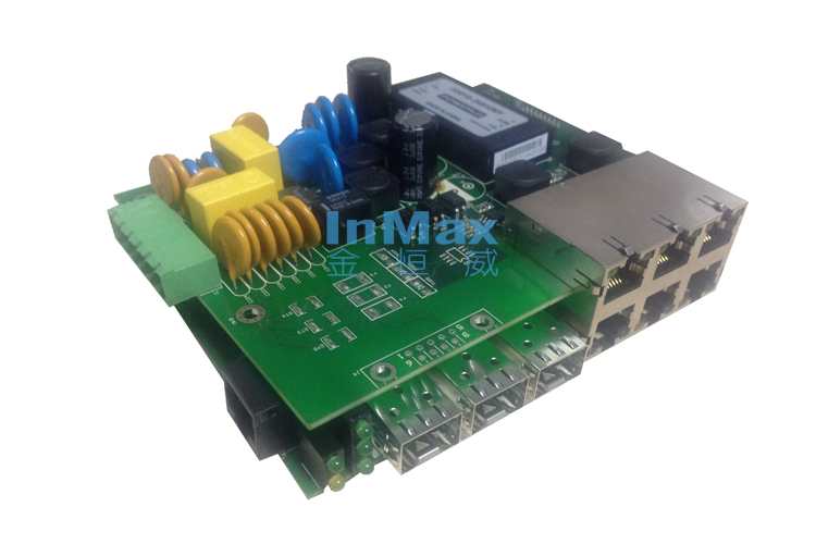 i609A 6+3G Embedded Managed Industrial Ethernet Switches