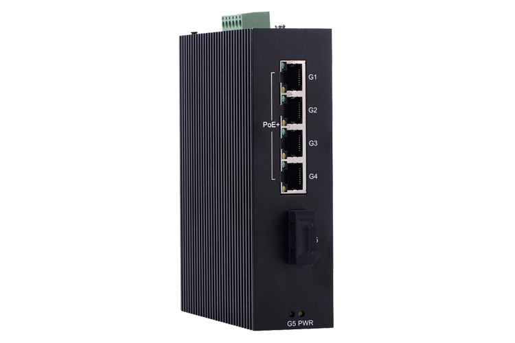 P505B Full Gigabit Unmanaged PoE Industrial Ethernet Switches