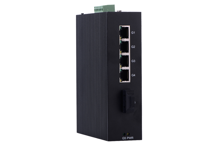 i505B Full Gigabit Unmanaged Industrial Ethernet Switches