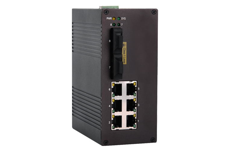 i608A 6+2 Managed Industrial Ethernet Switches