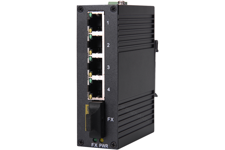 i305A 4+1 Port Unmanaged Industrial Ethernet Switches